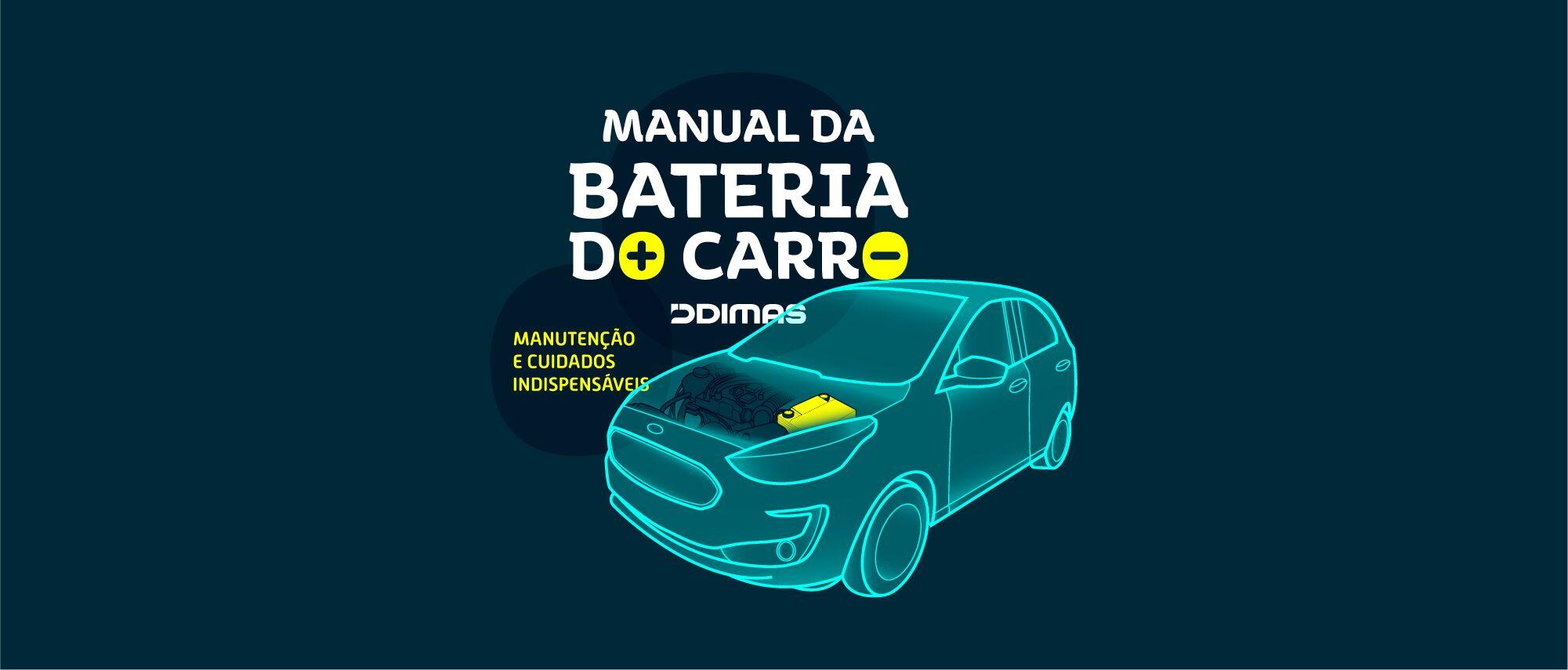 manual da bateria do carro