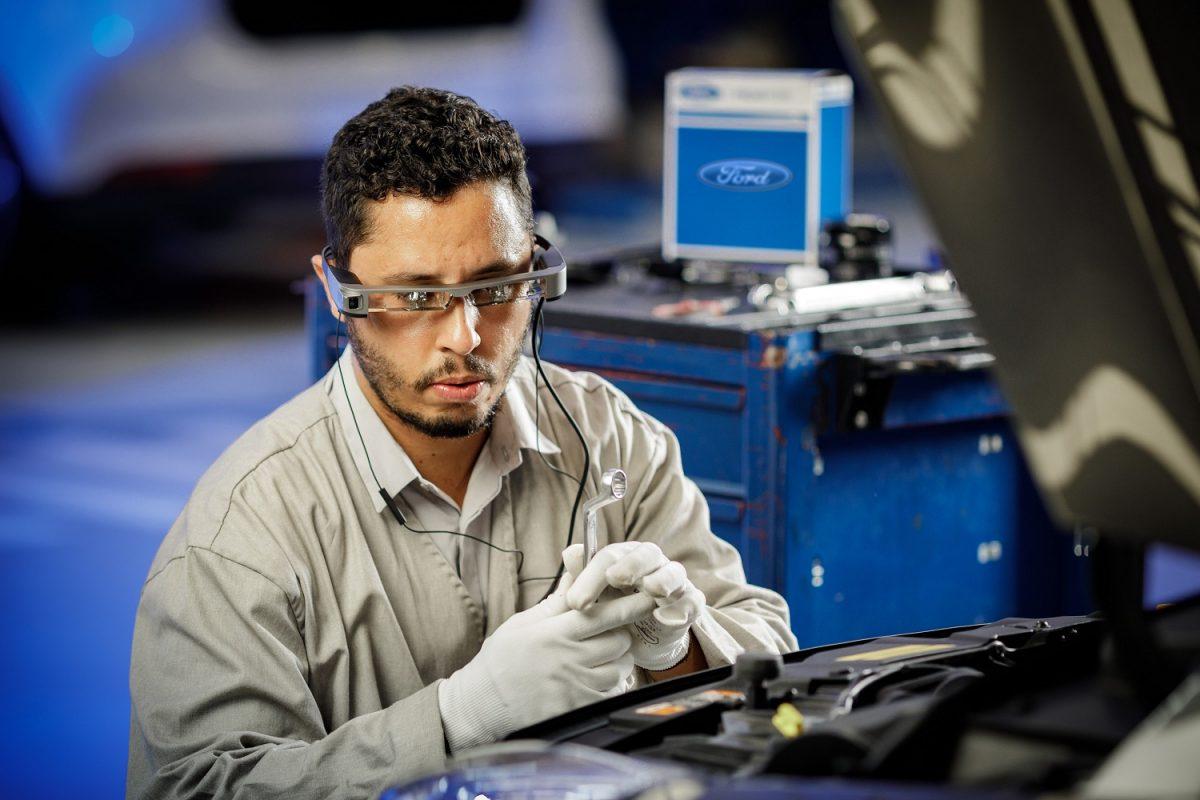 Tecnologias da Ford: Óculos de realidade virtual